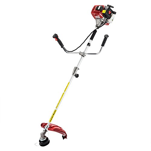 """Pinty Gas Brush Cutter Gas-Powered String Trimmer with Handle 42.7cc 17"""" Cutting Swath, EPA Certificated"""