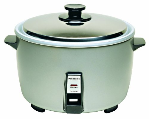 Panasonic SR-42HZP 23-cup (Uncooked) Commercial Rice Cooker,NSF Approved, Stainless Steel Lid