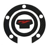 3D Real Carbon Fiber Tank Gas Cap Pad Filler Cover Sticker Decals For YAMAHA YZF R1 2000-2015