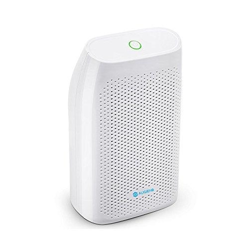 AUGIENB Mini Air Dehumidifier 700ml Compact and Portable Whisper Quiet Dehumidifier Air Dryer