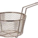 Update International (FB-8) 8 1/2 Round Wire Fry Basket
