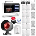KERUI N6120G Wireless GSM Home Security Burglar Alarm System Kit Auto Dialing Dialer Android iOS APP Control + Wireless Horn Loud up to 110db