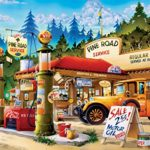 Buffalo Games Cartoon World – Pine Road Service – 1000 Piece Jigsaw Puzzle