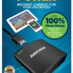 Rayovac 7 Hour Power USB Backup Charger with Micro USB and Batteries Included (PS73-4B)
