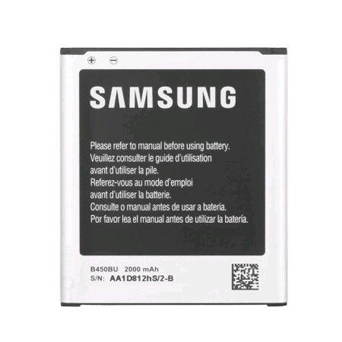 Samsung OEM Original Standard battery B450BU for Samsung Galaxy S3 S III Mini AT&T SM-G730A Verizon SM-G730V – Non-Retail Packaging – Black