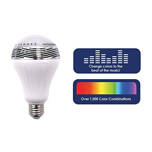 Life Made Chroma Medley Bluetooth Color Changing Lightbulb