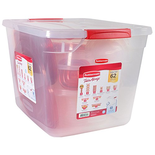 TakeAlongs Food Storage Set- 62 pc Dishwasher Microwave Safe