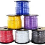 GS Power 16 Gauge 6 Color Roll Primary Wire Combo Pack | 100 ft per Roll (600 Feet Total) for Automotive Trailer Harness Hookup Car Speaker Audio Amplifier Remote Model Train LED Light Wiring