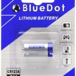 BlueDot 12 New High Quality Lithium Battery Cell, 12 CR123A Batteries