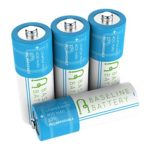 4 14430 400mAh LiFePO4 Rechargeable Batteries 3.2v Baseline Battery IFR Lithium Phosphate Solar Garden Light