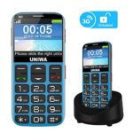 MOSTHINK V808G 3G Simple Senior Unlocked Cell Phone, Old Man Adults Kids Classic Portable Basic Seniors Phones Suit at&T T-Mobile, GSM WCDMA 850/1900MHz