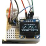 DIYmall Esp8266 Wemos Weather Station IoT Starter oled Kit, with 0.96 Blue iic Oled Display, for Arduino