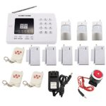 iMeshbean® Wireless PIR Home Security Burglar Alarm System Auto Dialing Dialer K05 99 Zones