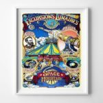 Disneyland Excursions Lunaires Wall Art Poster UNFRAMED