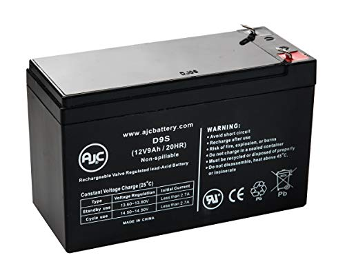 Belkin Regulator Pro Gold-Serial F6C625-SER 12V 9Ah UPS Battery – This is an AJC Brand Replacement