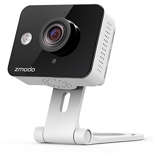 Zmodo HD Mini WiFi Wireless Wide Angle Indoor Home Video Security Camera Two-Way Audio, Night Vision, Cloud Service Available