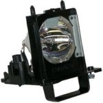 915B455012 Mitsubishi TV Lamp Replacement with Cage Assembly. Mitsubishi Projection TV Lamp with Osram Neolux Bulb Inside
