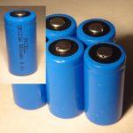 Five (5) New High Quality CR123A CR123 CR 123A 3.0V 3V BT Lithium Battery PKCELL