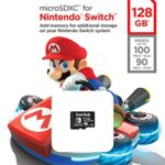 SanDisk 128GB microSDXC UHS-I card for Nintendo Switch –SDSQXAO-128G-GN6ZA