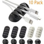 YOCOU Cable Management System, Pack of 10
