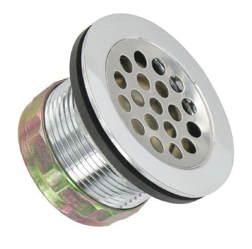 Valterra A01-2012VP Silver Carded Shower Drain