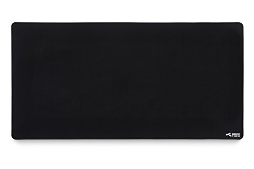 Glorious XXL Extended Gaming Mouse Mat/Pad – Large, Wide (Long) Black Mousepad, Stitched Edges | 36″x18″x0.12″ (G-XXL)