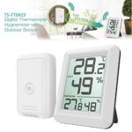 FidgetFidget Wireless Indoor Outdoor Digital LCD Hygrometer Thermometer Humidity Temp Meter