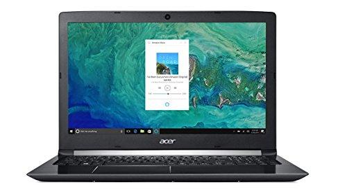 Acer Aspire 5 A515-51G-53V6, 15.6″ Full HD, 8th Gen Intel Core i5-8250U, Alexa Built-in, NVIDIA GeForce MX150, 8GB DDR4, 256GB SSD, Obsidian Black