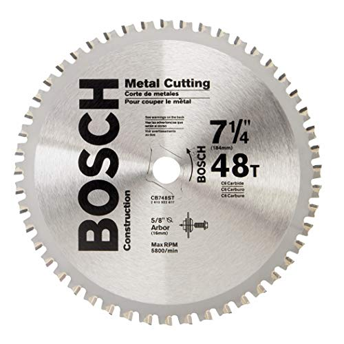 Bosch CB748ST 7-1/4 In. 48 Tooth Ferrous Metal Cutting Circular Saw Blade