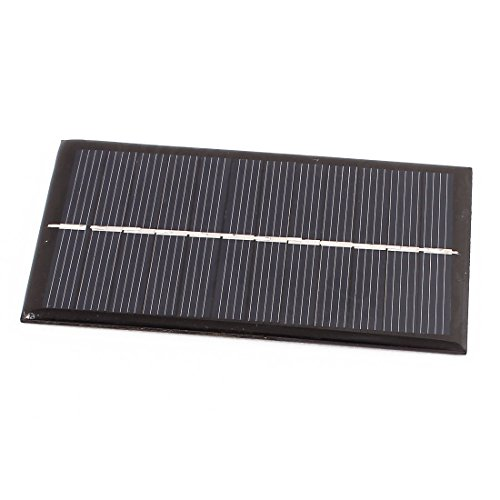 uxcell DC 6V 1W Rectangle Energy Saving Solar Cell Panel Module for Charger