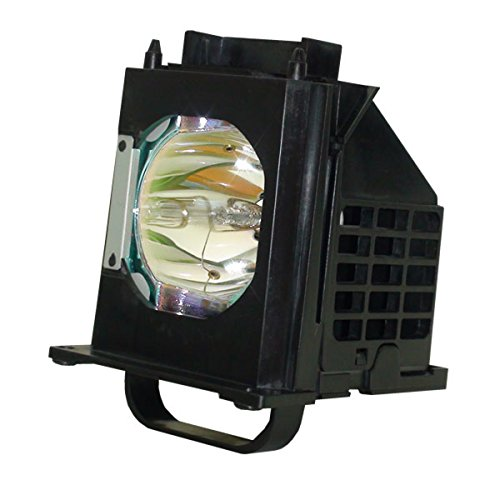 Aurabeam Replacement Lamp for Mitsubishi WD-73737 TV with Housing