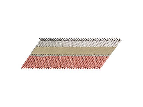 B&C Eagle A2X113HDR/33 Offset Round Head 2″ x .131 x 33 Degree Hot Dip Galvanized Ring Shank Paper Tape Collated Framing Nails (500 per Box), 2″ x 0.113″
