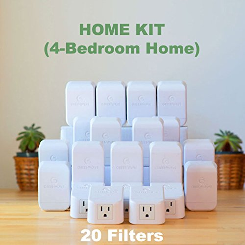 Greenwave Dirty Electricity Filters: 4 Bedroom Home Kit (20 filters)