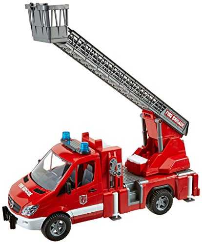 Bruder MB Sprinter Fire Engine with Ladder Water Pump and Light/Sound Module