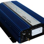 AIMS 2000 Watt Pure Sine Power Inverter 12 VDC to 120 VAC USB Port ETL Listed to UL458 2 Year Warranty