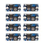 [8-PACK] LM2596 DC-DC Adjustable Buck Converter 3-40 V to 1.5-35v Step Down Power Supply High Efficiency Voltage Regulator Module …