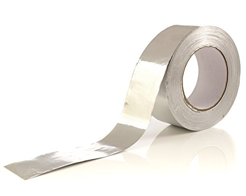 Aluminum Tape/Aluminum Foil Tape – 1.9 inch x 150 feet (3.4 mil) – Good for HVAC, Ducts, Insulation and More