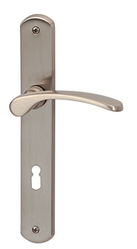 Alpertec Interior Door Fitting Amata Langschild Door Lock Door Handle Door Handle Door Handles, 1 Piece, 32740300.