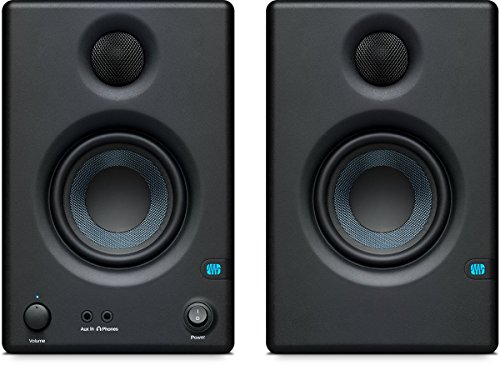 PreSonus Eris E3.5 – 3.5″ Professional Multimedia Reference Monitors with Acoustic Tuning (Pair)