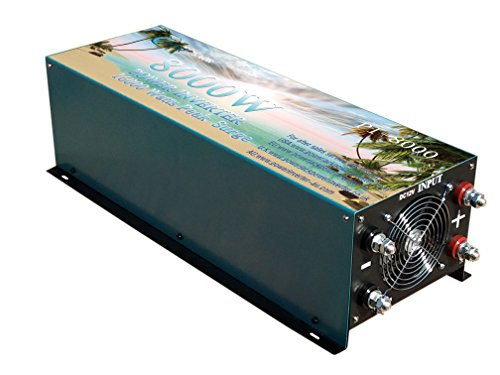 16000W peak 8000W Modified Sine Wave Power Inverter DC 12V to AC 110V , Car power tool