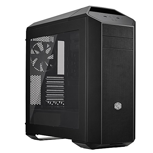 MasterCase Pro 5 Mid-Tower Case with FreeForm Modular System, Window Side Panel, Top Mesh Cover, and Watercooling Bracket