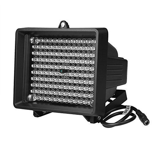 Outdoor LED Infrared Illuminator IP65 Watreproof 850nm-940nm 230ft Night Vision Distance IR Illuminator for Security Camera