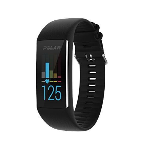 Polar A370 Fitness Watch with 24/7 Wrist Based Heart Rate, Black
