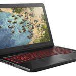 "ASUS FX504 Thin & Light TUF Gaming Laptop, 15.6"" Full HD, 8th Gen Intel Core i7-8750H Processor, GeForce GTX 1050 Ti, 8GB DDR4, 256GB M.2 SSD, Gigabit WiFi, Windows 10 – FX504GE-ES72"