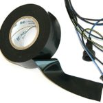 (J-10-9) 1 Roll Factory Electrical Non Adhesive Wiring Harness Friction Tape OEM B NOS OE (K-4-2)