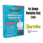 Star Brite No Damp Hanging Moisture Absorber & Dehumidifier 14oz 85470 RV Boat