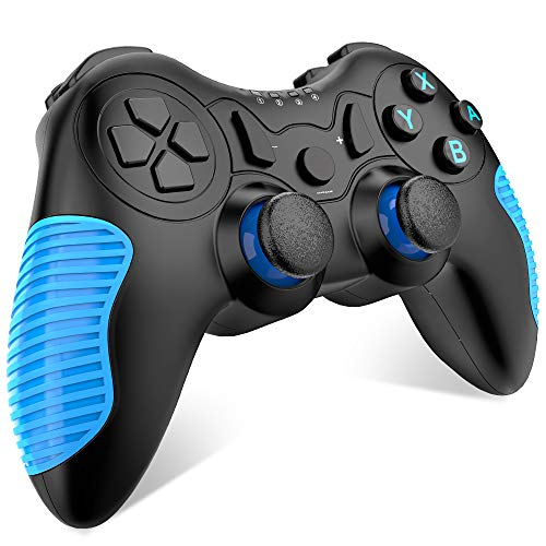 EALNK Wireless Controller for Nintendo Switch Remote Pro Controller Compatible for Nintendo Switch Console (Blue)