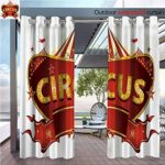 DESPKON The Shade Block Ultraviolet eA Circus Sign Baroque StyleTop Enjoyment Marquee Nightlife Retro Bathroom Suitable for Outdoor、Open-air Wedding W120 x L96 INCH