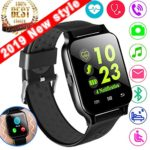 1.54″ Smartwatch Sport Fitness Tracker for Women Men with Blood Pressure Heart Rate Monitor Kid Health Monitor Activity Tracker Watch Pedometer Calorie BT Call SMS Camera Music Holiday Bithday Gift