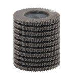 TOVOT 10 PCS Aluminum Oxide Flap Disc Grinding wheels Angle grinder discs 4 inch 80 grit